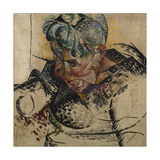 Study for the Head - Mother or Study for a Head Giclee Print by Umberto Boccioni
