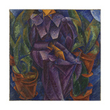 Spiral Construction or Spiral Perpendicular Construction Giclee Print by Umberto Boccioni