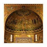 Enthroned Madonna Giclee Print by Pietro Cavallini