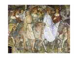 Pope Alexander III's Triumphal Ride into Rome, Scene from Stories of Alexander III, 1407-1408 Giclee Print by Spinello Aretino