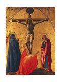 The Crucifixion, Panel from the Altarpiece of the Church of the Carmine in Pisa, 1426 Giclee Print by Tommaso Masaccio