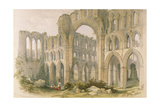 Rievaulx Abbey Giclee Print by William Richardson