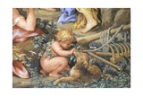 The Silver Age or Rather Quiet Life Devoted to Sheep Farming and Agriculture Giclee Print by Pietro da Cortona