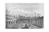 Italy, History of Archaeology, Excavations in the Peristyle of the House of Argus Giclee Print