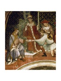 Barbarossa's Message, Scene from Stories of Alexander III, 1407-1408 Giclee Print by Spinello Aretino
