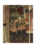 The Pope Handing His Sword over to the Doge Ziani, Scene from the Stories of Alexander III Giclee Print by Spinello Aretino