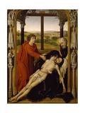 Spain, Granada, Royal Chapel of Cathedral, Pieta Giclée-Druck von Rogier van der Weyden