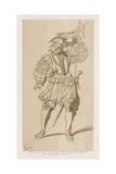 Swiss Soldier in La Garde Des Rois De France Giclee-trykk av Raphael Jacquemin
