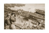 The British Submarine Menace in the Baltic Giclee Print