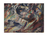 States of Mind - the Farewells or Study for 'States of Minds' - 'The Farewells' Giclee Print by Umberto Boccioni