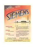 Advert for 'Siemens' Company Giclee Print