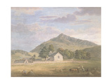 Haymaking at Dolwyddelan Below Moel Siabod, North Wales, C.1776-86 Giclee Print by Paul Sandby