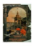 Chemins De Fer De L'Ouest: Voyages a Prix Reduits: Normandie, Bretagne, Ile De Jersey' Giclee Print
