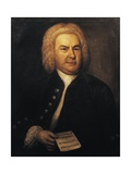 Germany, Leipzig, Portrait of German Composer and Organist, Johann Sebastian Bach Giclee Print
