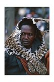 Man Wearing a Leopard Skin, Festivities Reminiscent of the Coronation of Kabaka Giclee Print