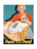 Poster Advertising Persil, Printed by Henkel and Voith M.B.H., Vienna, C.1936 Giclee Print