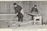 Carpenters and Frame Makers, Old Japan Exhibition, Earl's Court, London, 1907 Photographic Print