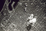 Aerial Bombing of Barcelona by Franco's Nationalist Air Force, Spain, 17th March 1938 Reproduction photographique