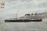 Ss Galtee More, Holyhead and Greenore Service, Quickest Route London, Birmingham and Belfast Photographic Print