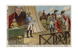 George Washington Reading the Draft Constitution of the United States to Delegates Giclee Print