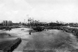 Quarry and Construction at Venetian Pool Site, Coral Gables, Florida, C.1923 Photographic Print