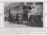 A Missing Londoner! an English Met Motor-Bus in the Hands of the Germans and Put to Use by Them Photographic Print