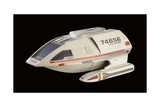 Shuttlecraft Tereshkova Miniature Model, Used in 'Star Trek: Voyager', C.1995 Giclee Print