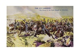 The 17th Lancers at the Charge of the Light Brigade, Battle of Balaclava, Crimean War, 1854 Giclee Print