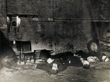 The Aftermath of the St. Valentine's Day Massacre, Chicago, 14th February 1929 Photographic Print