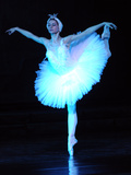 "Alexandra Timofeyeva Performs in Tchaikovsky's ""Swan Lake"" in Moscow's Grand Kremlin Palace, 2012 Photographic Print"