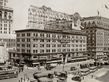 The West Side of 7th Ave., with the Intersections of 43rd and 44th Streets, New York City, 1925 Photographic Print