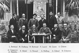 Marcel Duchamp at the Second French Chess Championship, Strasbourg, from 'L'Echiquier', 1924 Photographic Print