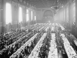 Banquet in Alumni Hall [I.E., University Commons], Yale College, Connecticut, C.1900-06 Photographic Print
