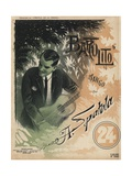 Bartolito, Tango Sheet Music Cover, Printed by Breyer Hermanos, Buenos Aires, C.1910 Giclee Print