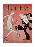Dancing the Charleston During the 'Roaring Twenties', Cover of Life Magazine, 18th February, 1928 Giclée-Druck