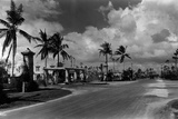 Looking North on Granada Boulevard at the Intersection with Alhambra Circle, October 4Th, 1926 Photographic Print