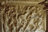Relief Depicting Durga with the Mahisha Demon, Mandapa of Mabishasuramamrdini, Mahabalipuram Photographic Print