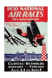 Poster for the National Air Races at the Curtiss-Reynolds Airport, Chicago, 1930 Giclee Print