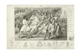 Charles VI of France Is Warned of an Ambush in the Forest Near Angers, 1392 Giclee Print