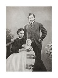 The Prince and Princess of Wales Giclee Print