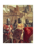 Knights Crusaders Giclee Print by Charles-Philippe Lariviere