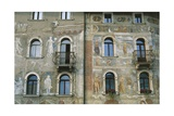 Frescoes Frames and Faux Marble Inlays Giclee Print by Marcello Fogolino