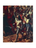The Battle of Ascalon Between Godfrey of Bouillon and Al Afdal's Egyptians Giclee Print by Charles-Philippe Lariviere