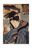 I Wish He Were Here Giclee Print by Kuniyoshi Utagawa