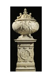 Marble Monument with Heart of King of France Francis I Giclee Print by Pierre Bontemps