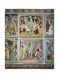 Last Supper and Flagellation Giclee Print by Giovanni Canavesio