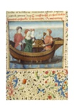 Lancelot and Guinevere Playing Chess Giclee Print