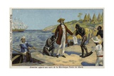 Victor Schoelcher Bringing News of their Freedom to the Slaves of Martinique, C1848 Giclee Print