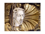 Marble Sculpture Depicting Head of St John the Baptist Giclee Print by Pierre Puget