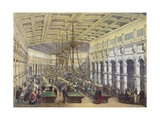 View of the Interior of the 'Grand Cafe Parisien', Paris, Engraved by Thibault, 1855 Giclee Print